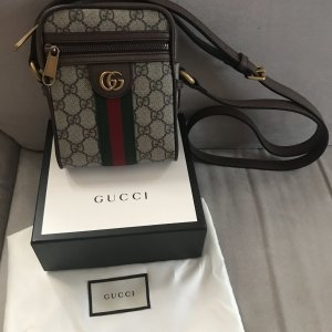 Gucci Gekruiste tas bruin