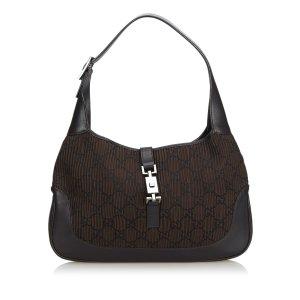 Gucci Fabric Jackie Shoulder Bag