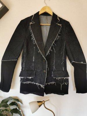 Gucci Jeansowa kurtka Wielokolorowy