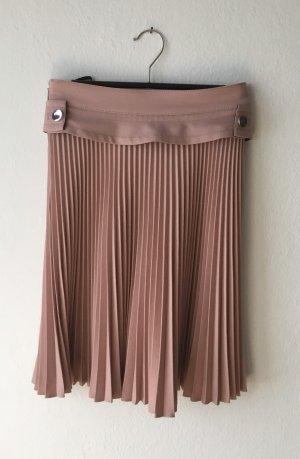 Gucci Plaid Skirt dusky pink