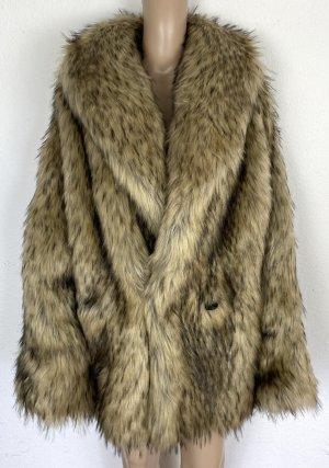 Gucci Fur Jacket brown acetate
