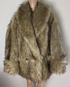 Gucci Futrzana kurtka brązowy