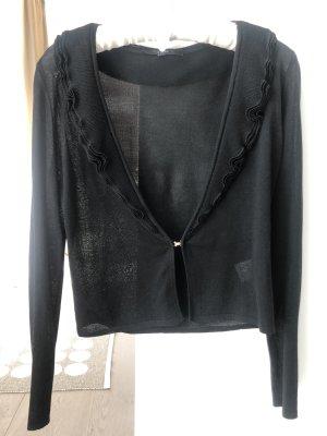 Gucci Szydełkowany sweter czarny Jedwab