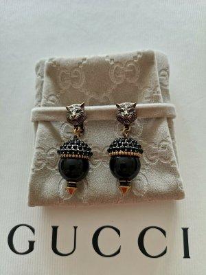 Gucci Pendientes de clip color oro-negro
