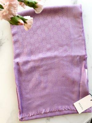 Gucci Bufanda de lana púrpura Algodón