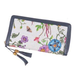 Gucci Flora Bamboo Long Wallet