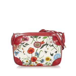 Gucci Flora Canvas Crossbody Bag