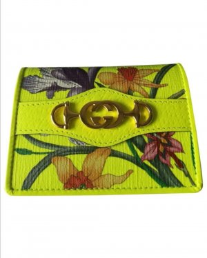 Gucci Wallet gold-colored-neon yellow