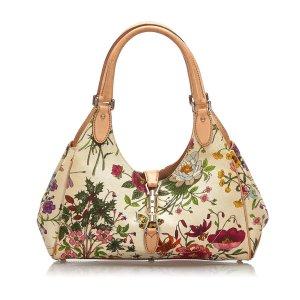 Gucci Flora New Jackie Shoulder Bag