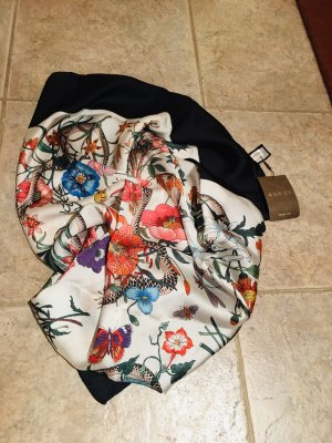 Gucci Sciarpa di seta multicolore