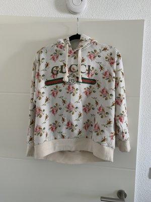 Gucci Pull à capuche blanc