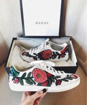 Gucci Flower Sneaker 38.5 weiß
