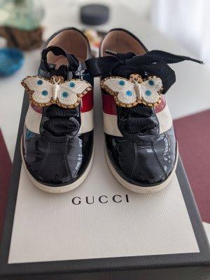 Gucci Frauen Falacer Web Batterfly Sneaker