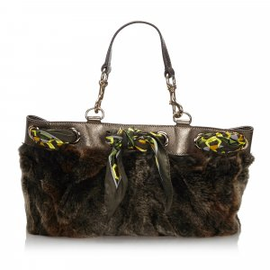 Gucci Tote groen Vacht