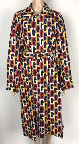 Gucci, G Sequence Printed Belted Coat, Multi, 36 (It. 40), Viskose, neu, € 3.500,-