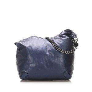 Gucci Galaxy Chain Leather Hobo Bag