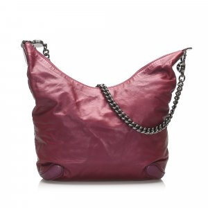 Gucci Galaxy Chain Leather Shoulder Bag