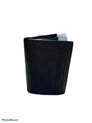 Gucci Portemonnee zwart Leer