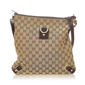 Gucci GG Canvas Abbey D-Ring Crossbody Bag