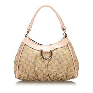 Gucci GG Canvas Abbey D-Ring Handbag