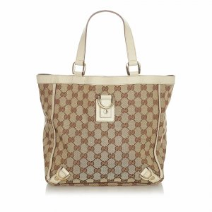 Gucci GG Canvas Abbey D-Ring Tote Bag