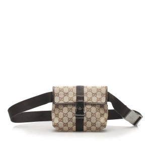 Gucci GG Canvas Belt Bag