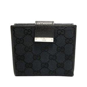 Gucci GG Canvas Bi-fold Small Wallet