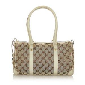 Gucci GG Canvas Boston Bag