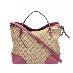 Gucci GG Canvas Bree Satchel