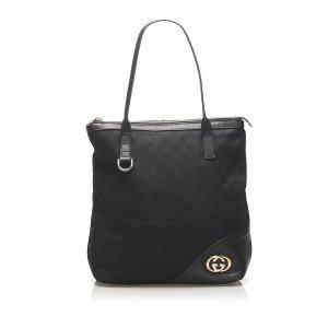 Gucci GG Canvas Britt Tote Bag