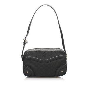 Gucci GG Canvas Crest Shoulder Bag