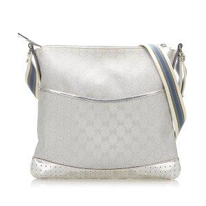 Gucci Torba na ramię srebrny