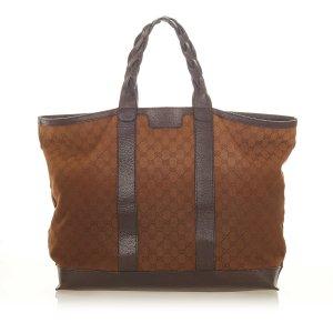 Gucci Bolso de viaje marrón claro