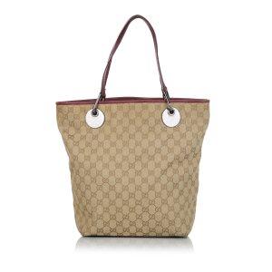 Gucci Bolso de compra beige