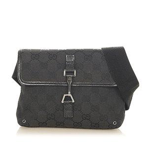 Gucci GG Canvas Jackie Belt Bag