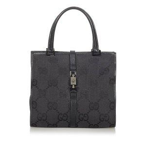 Gucci GG Canvas Jackie Handbag