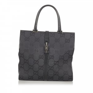 Gucci GG Canvas Jackie Tote Bag