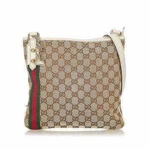 Gucci GG Canvas Jolicoeur Crossbody Bag
