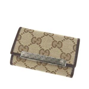 Gucci Étui porte-clés beige