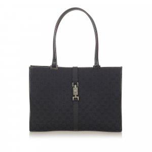 Gucci GG Canvas New Jackie Tote Bag