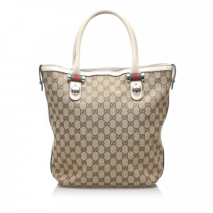 Gucci GG Canvas Shelly Tote Bag