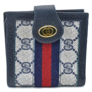 Gucci GG Canvas Sherry Line Web Leather Old Model