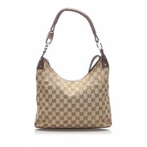 Gucci Sac porté épaule beige