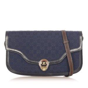 Gucci Schoudertas donkerblauw