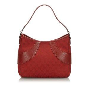 Gucci Sac porté épaule rouge
