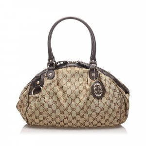Gucci GG Canvas Sukey Handbag