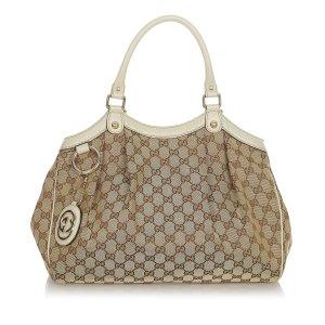 Gucci GG Canvas Sukey Tote Bag