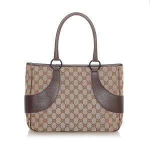 Gucci GG Canvas Tote Bag