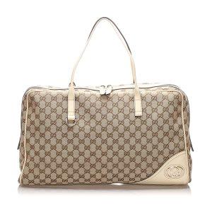 Gucci GG Canvas Travel Bag