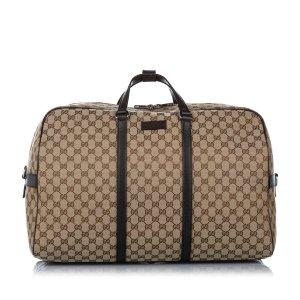 Gucci Bolso de viaje beige